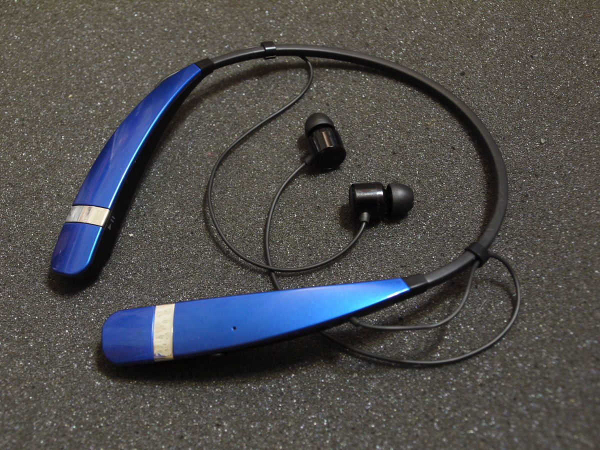 Фото 6 - Bluetooth стереогарнитура LG Tone HBS-760