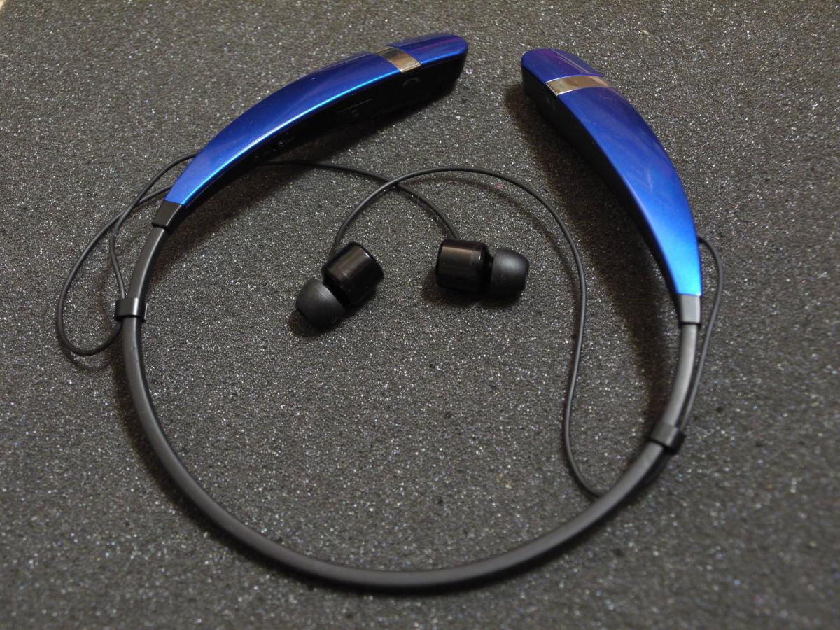Фото 7 - Bluetooth стереогарнитура LG Tone HBS-760