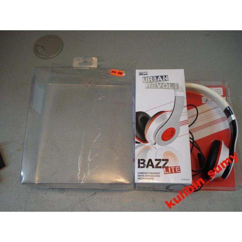Фото 2 - Наушники Trust Urban Revolt Headset -Bazz Lite