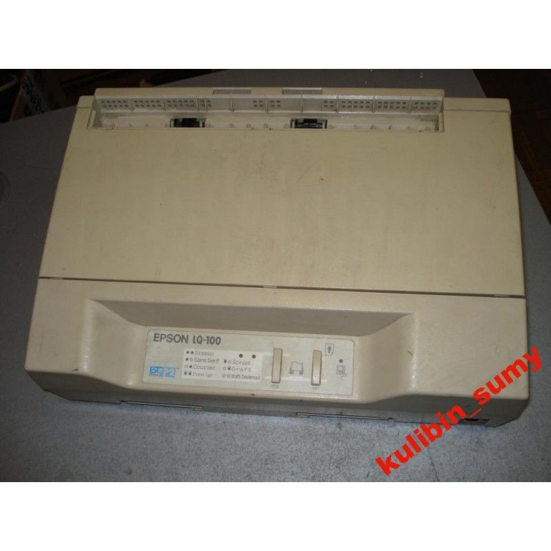 Матричный принтер Epson LQ-100 №1