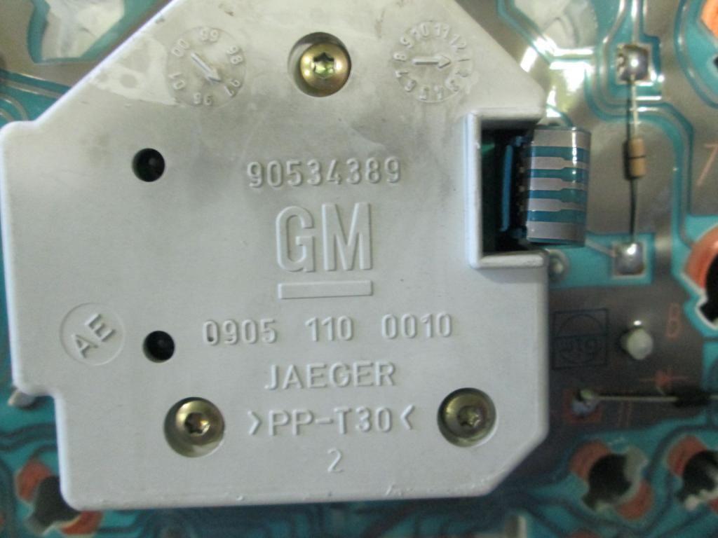 Фото 3 - Панель щиток приборов Opel Combo Corsa B 93-00