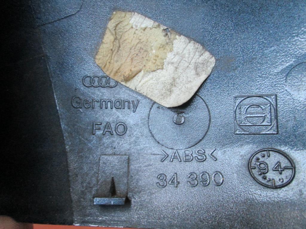 Фото 4 - Крышка правого зеркала Audi A3 A4 A6 A8 4A0857508