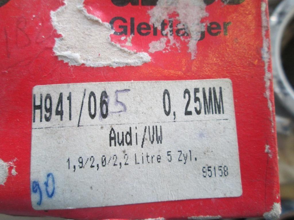 Фото 2 - Вкладыши коренные +0.25 Audi 100 80 90 Coupe A6