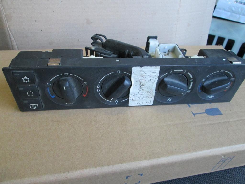 Фото - Панель управления печкой кондиц BMW 7 E38 8367917
