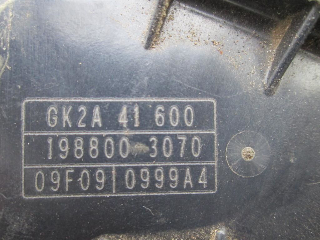 Фото 4 - Педаль газа Mazda 6 GK2A41600