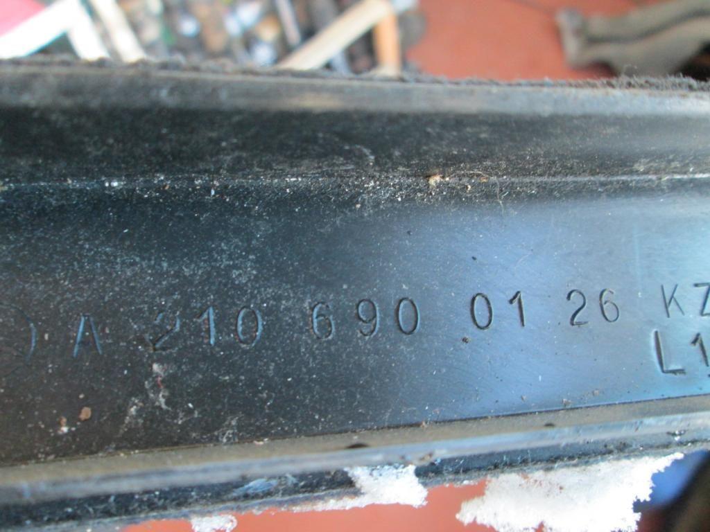 Фото 4 - Накладка порога в салоне Mercedes W210 2106900126