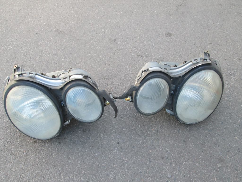 Фото - Фара передняя левая правая Mercedes W210 95-99