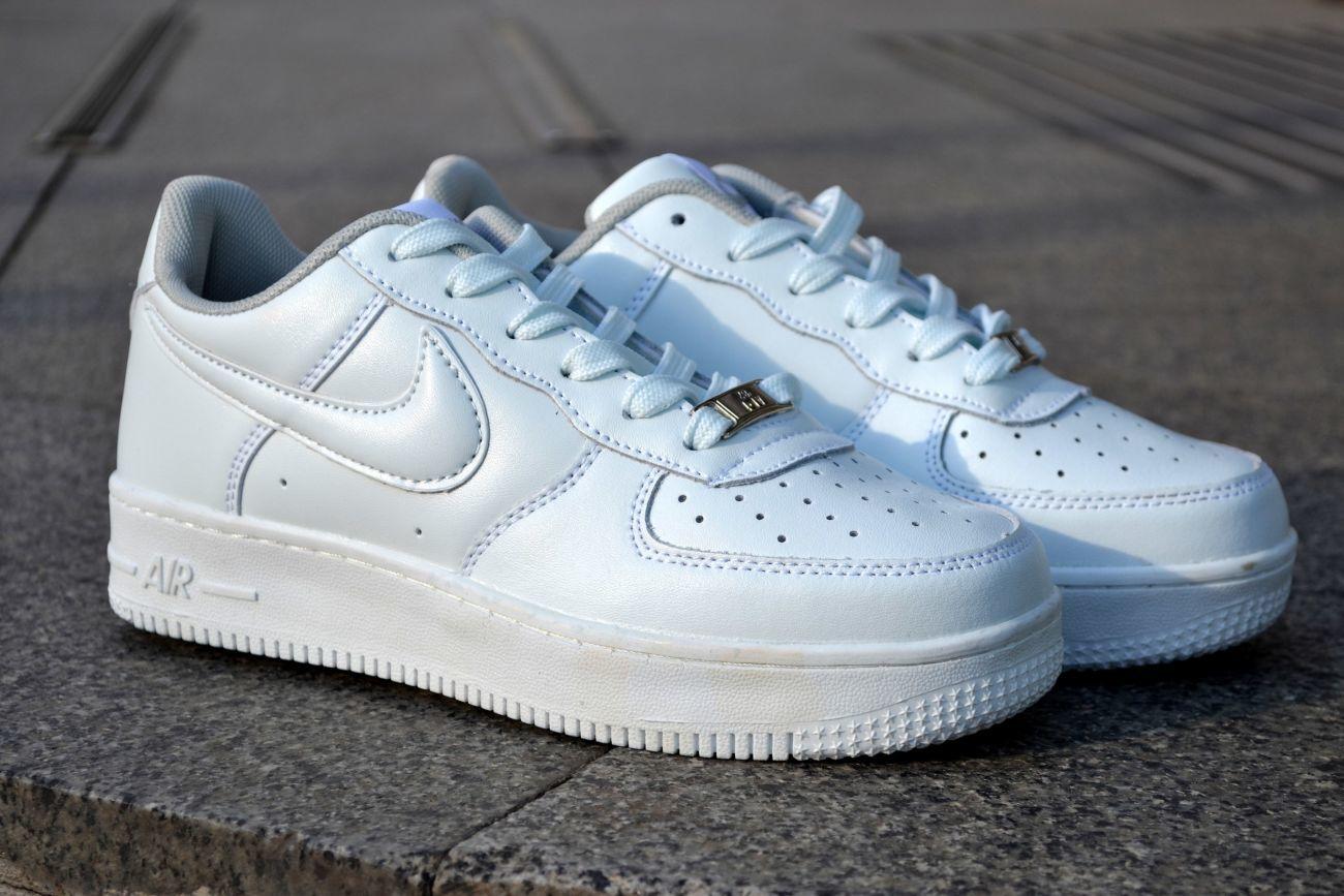 b93931fbe0f0 Женские кроссовки Nike Air Force Найк Аир Форс низкие белые  699 грн ...