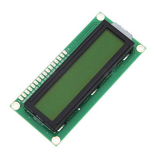 Фото - ЖКИ модуль LCD 1602 дисплей синий зеленый