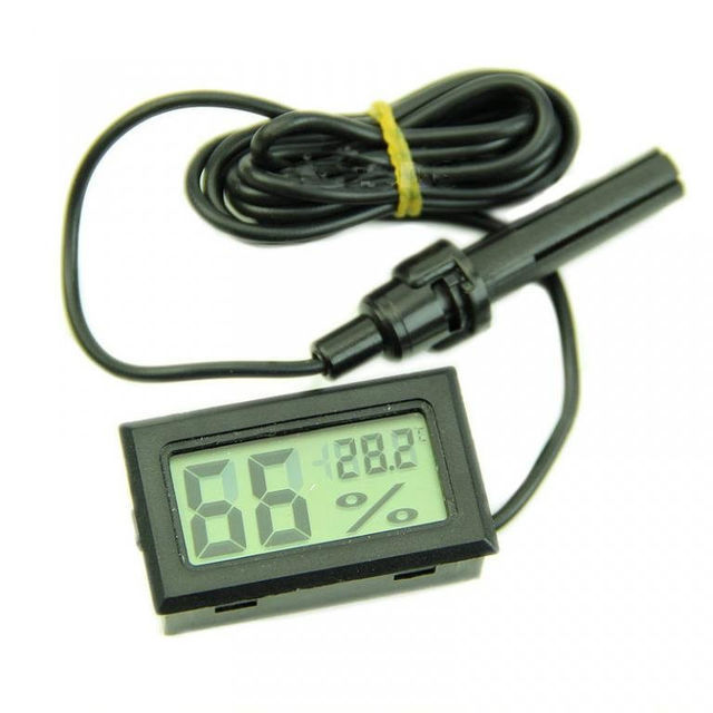 Фото - Термометр, гигрометр, измеритель влажности, с датчиком