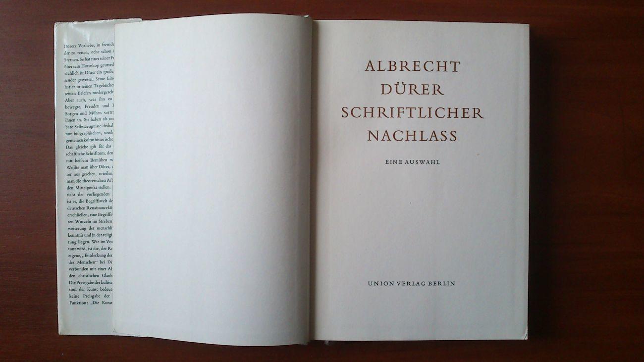 Фото 3 - Аlbrecht Durer. Schriftlicher NachlaB