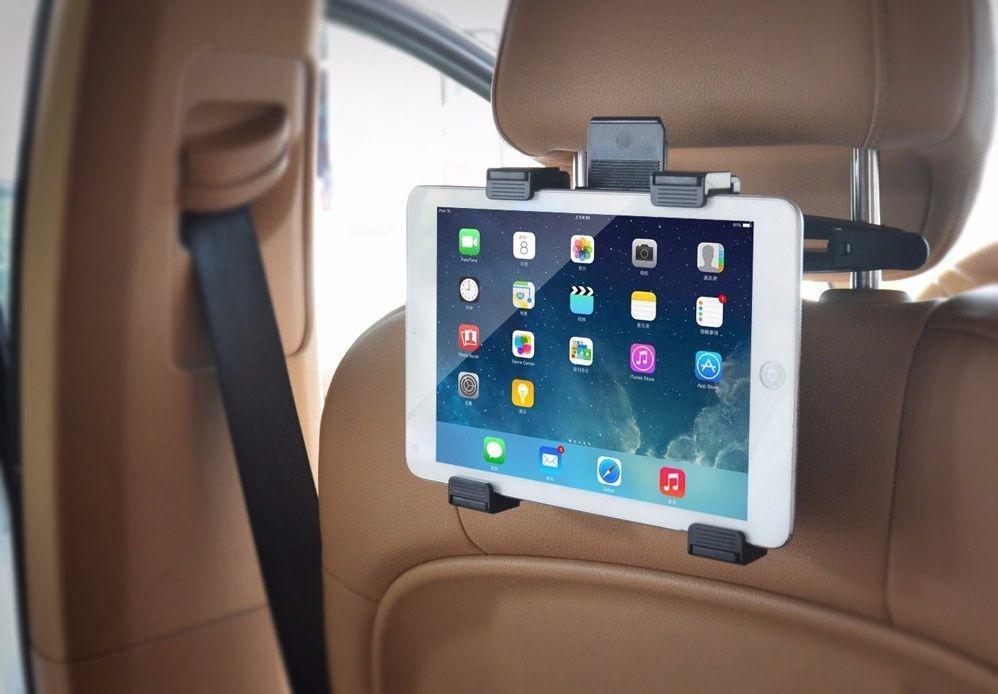 """Автомобильный держатель на подголовник для iPad и др. планшетов до 14"""""""