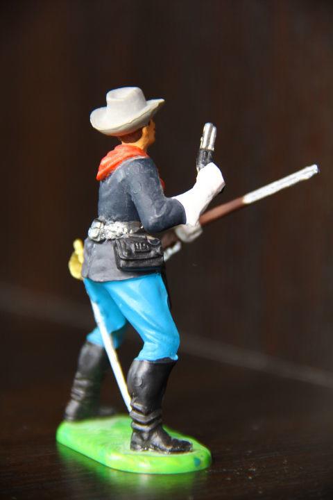 Фото 8 - индеец, кавалерист  (ELASTOLIN) 70мм конверсия