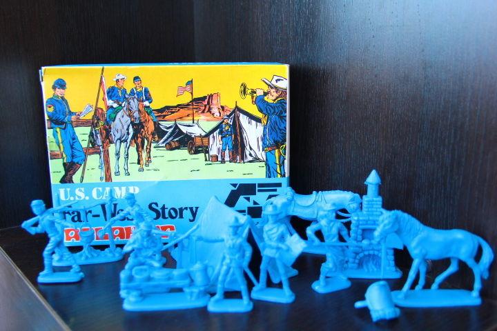 Фото - лагерь американской  кавалерии (Atlantic) 60мм