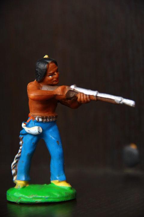 индейцы ковбои ГДР(№003) RRR