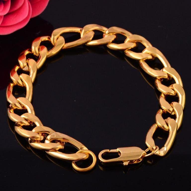 Купить браслет покрытый золотом