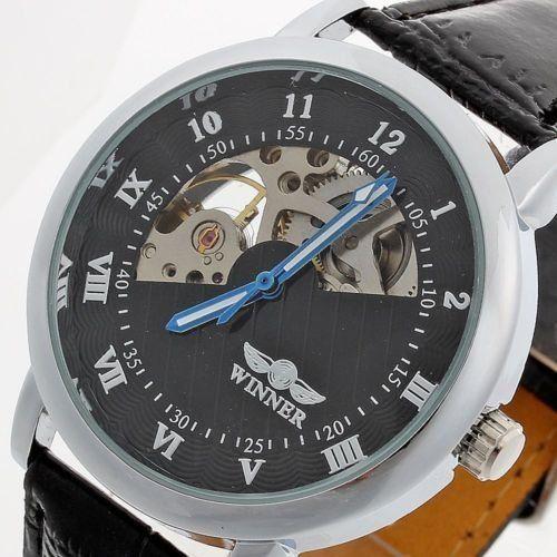 Часы Winner с Автоподзаводом стильный Скелетон  460 грн. - Наручные ... 9d2711d7c13a4