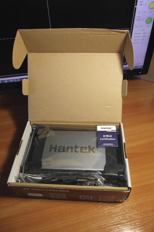 Фото - Цифровой осциллограф USB Hantek 6022BE (в наличии)!