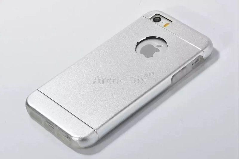Фото - Чехол- на Iphone 5 5S  серебро  Новый - в наличии