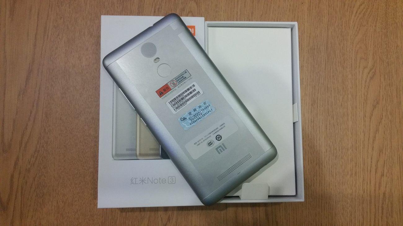 Фото 2 - Xiaomi Redmi Note 3 PRO 2/16 Gray