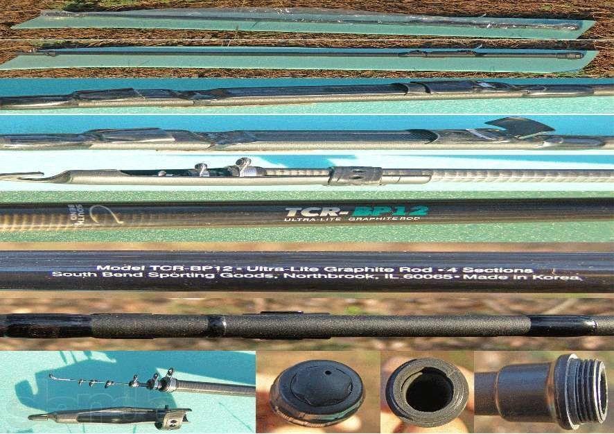 South Bend TCR-BP12(графитовое удилище).USA.