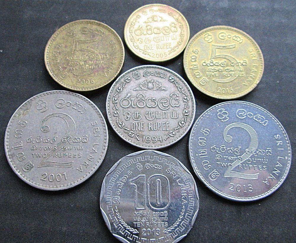Фото - Монеты Шри-Ланки.