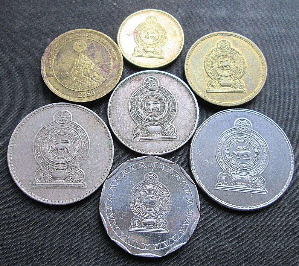 Фото 4 - Монеты Шри-Ланки.