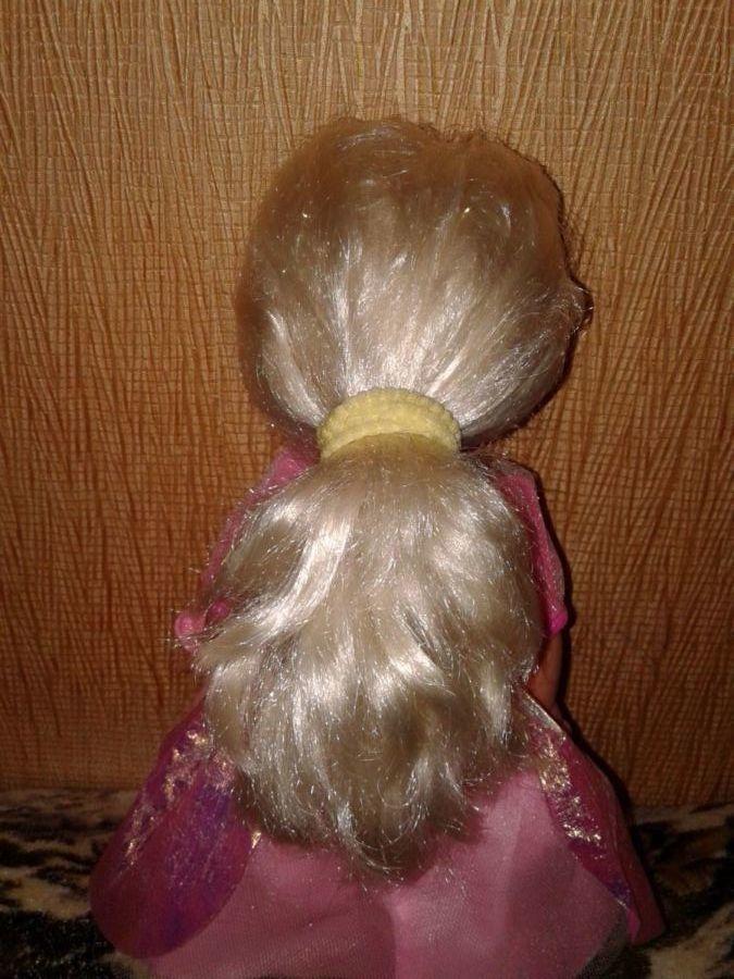 Фото 3 - Кукла с лошадкой ручной работы