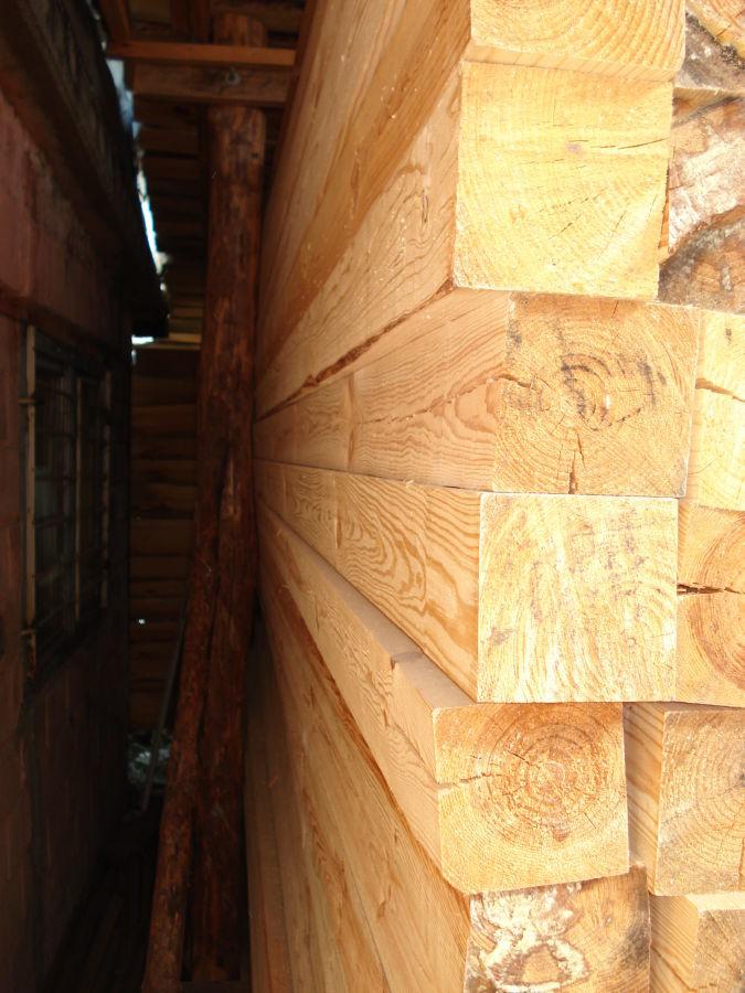 Фото 2 - Брус  цельный, обрезной, сухой, строганный 150х200мм продам
