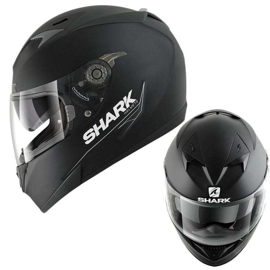 Мотошлем Shark S900 Black matt