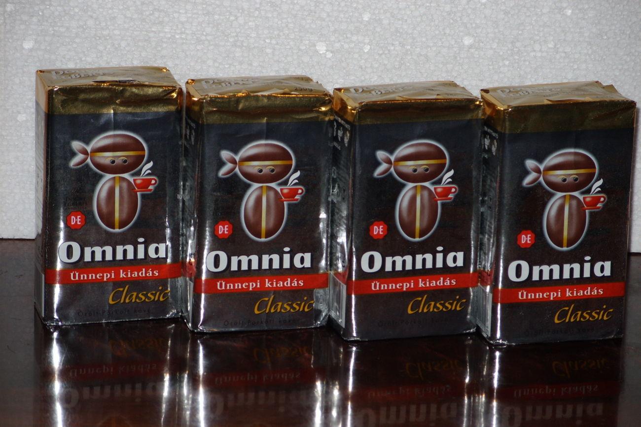 Кофе Omnia Classic молотый 800 гр (Венгрия)