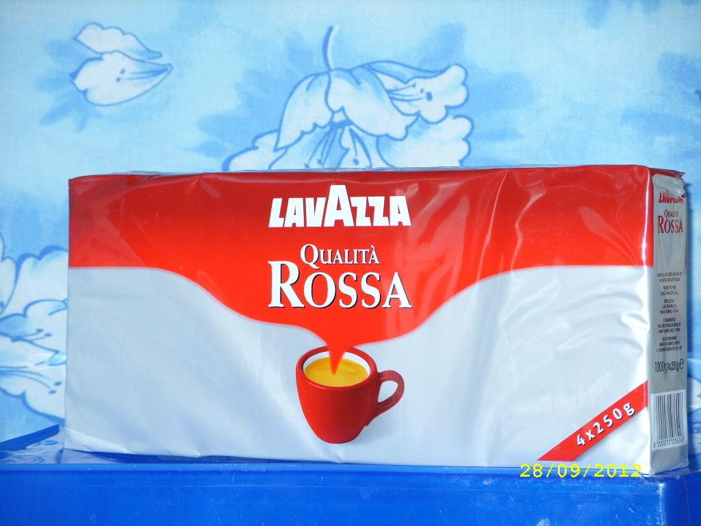 Кофе Lavazza Qualita Rossa (4х250гр)