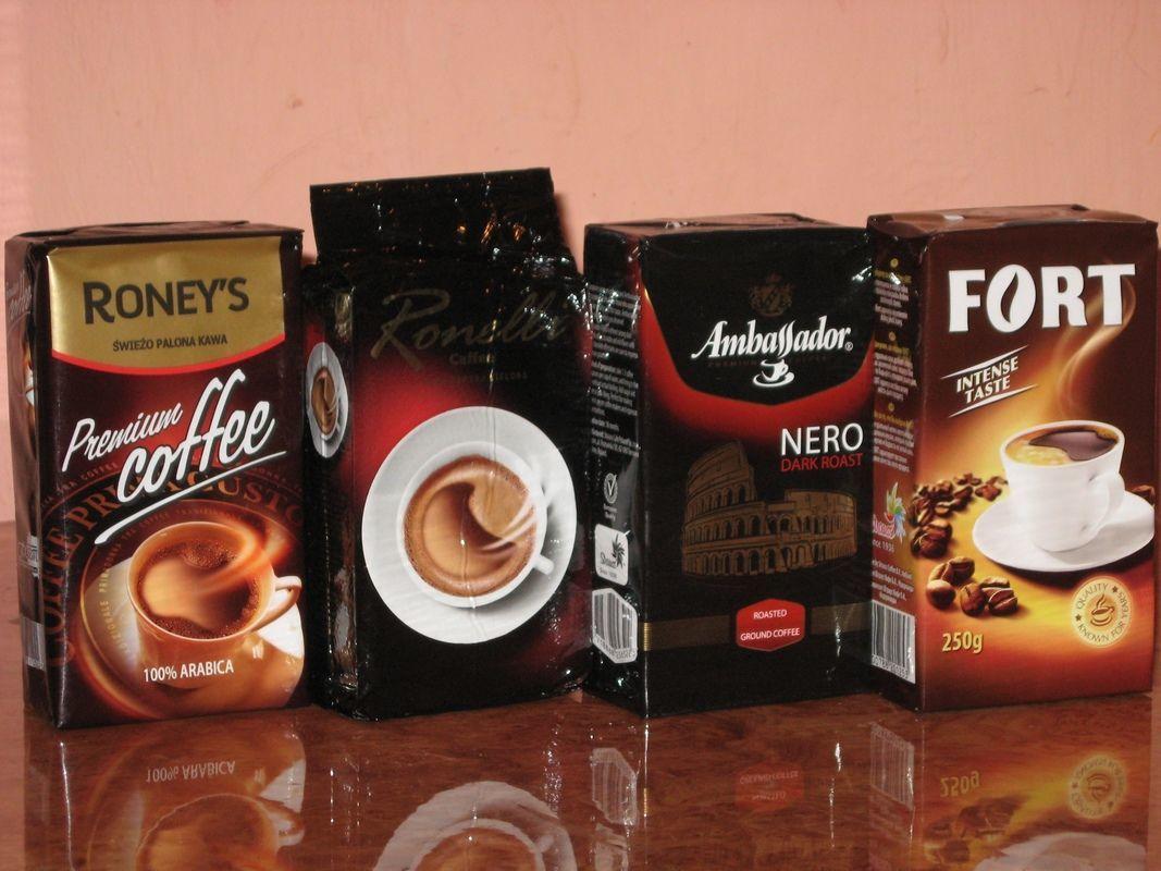 Кофе молотый Польша (4x250гр)