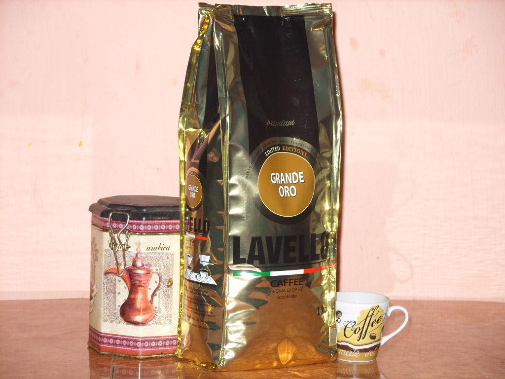 Кофе молотый GRANDE ORO *lavello*