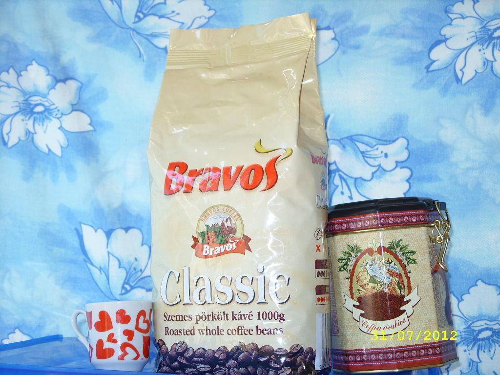 Кофе BRAVOS Classic молотый 1 кг. Венгрия !