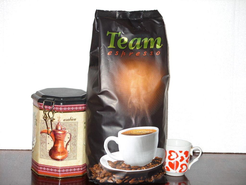 Кофе натур. молотый TEAM Espresso 1кг