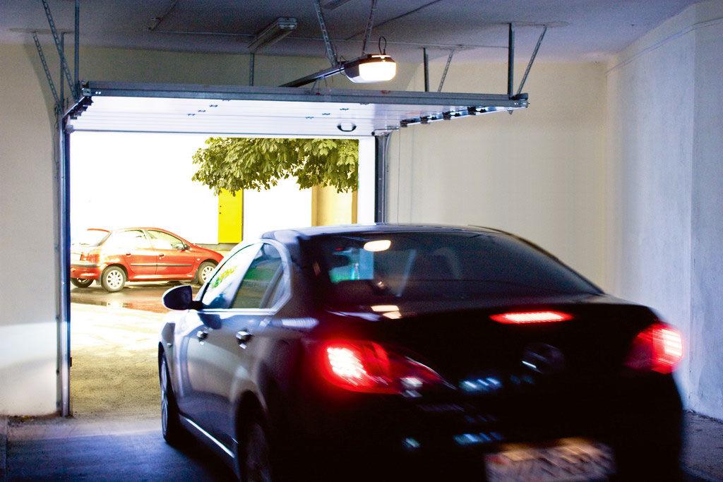 Ворота Секционные Гаражные 2500*2150мм коричневый цвет