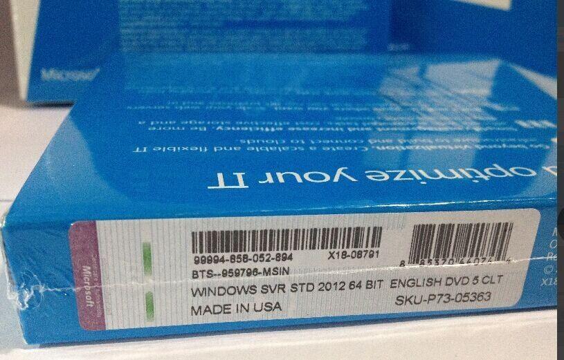 Фото 4 - Windows Server 2012 Standart BOX P73-05363