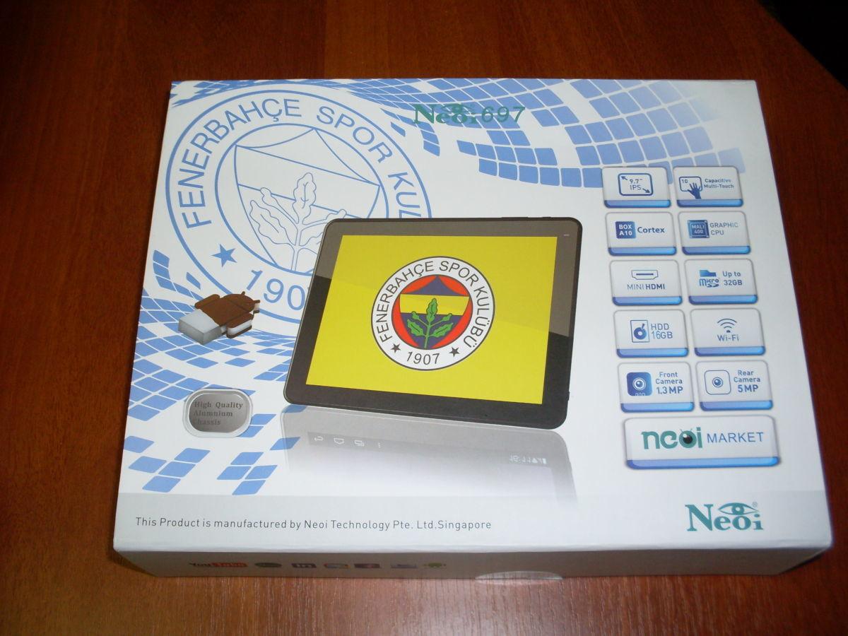 Фото 4 - Супер-цена! Планшет Neoi 697 9,7' IPS,1Gb+16Gb,8000mAh