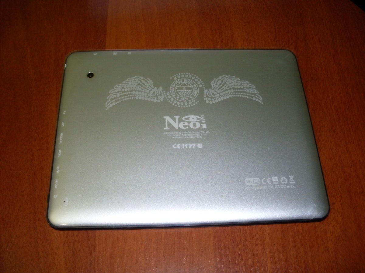 Фото 3 - Супер-цена! Планшет Neoi 697 9,7' IPS,1Gb+16Gb,8000mAh