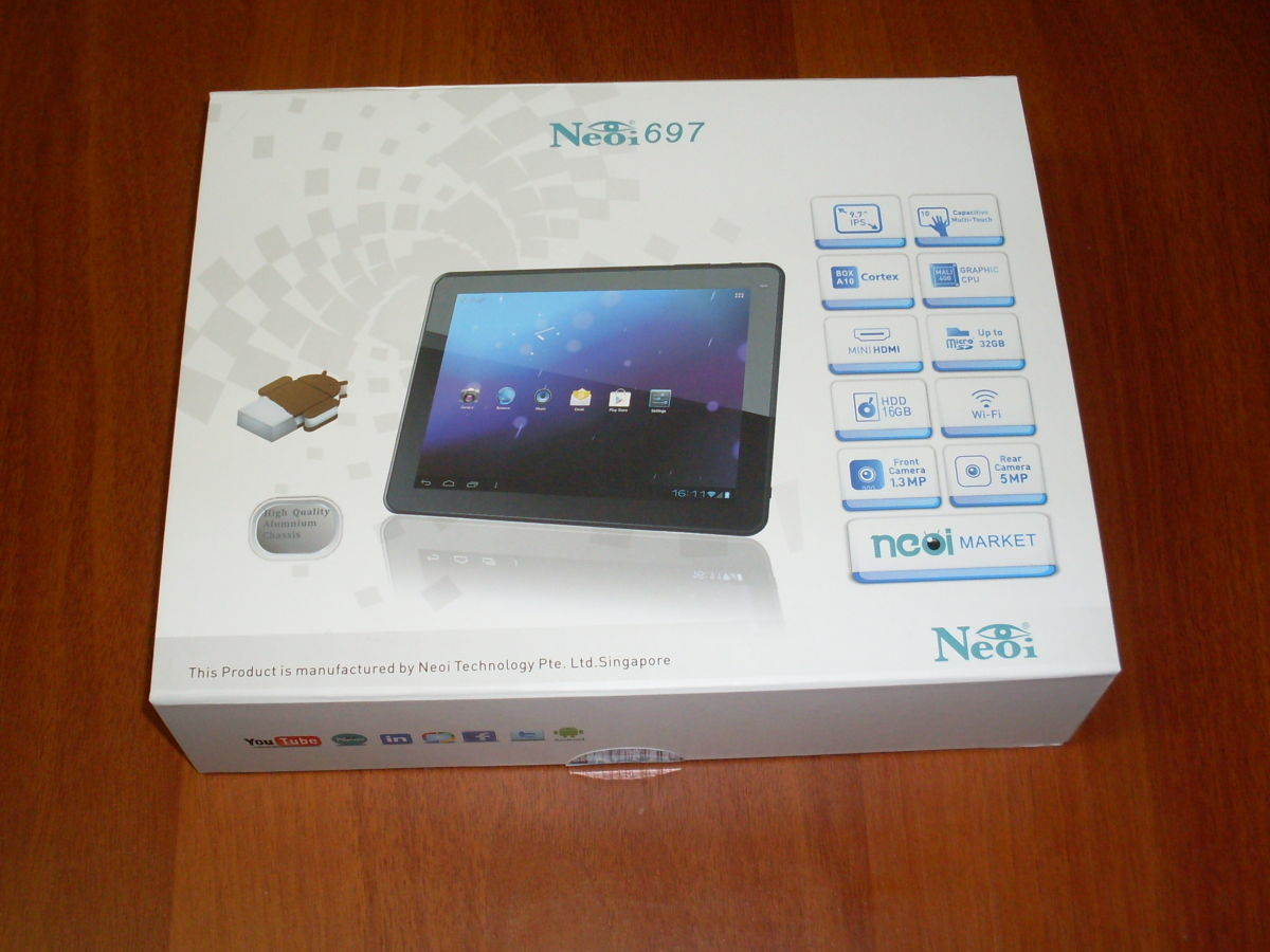 Фото 5 - Супер-цена! Планшет Neoi 697 9,7' IPS,1Gb+16Gb,8000mAh