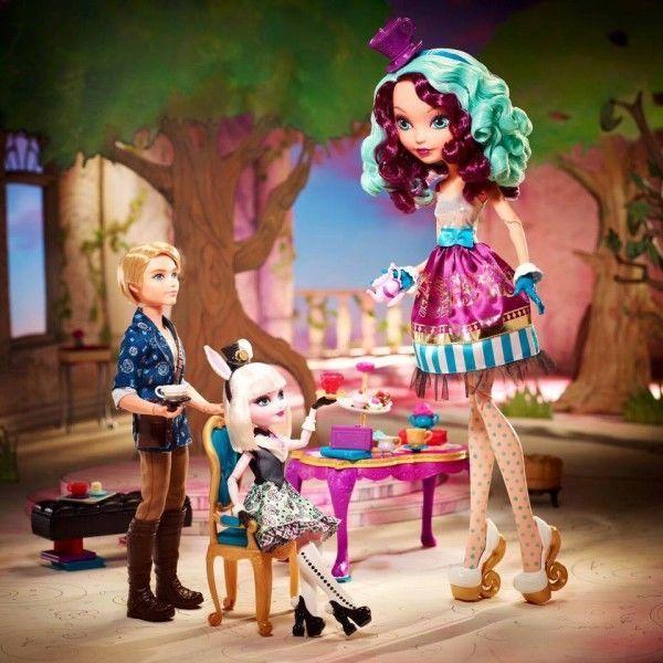 Фото 5 - Кукла Ever After High Mattel р базовая Madeline Hatter Мэделин