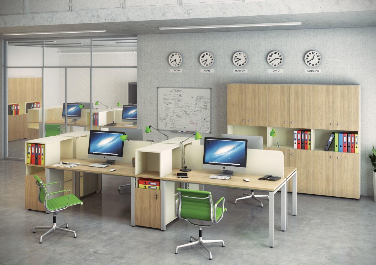Оперативная мебель серии base на заказ собственного производ.
