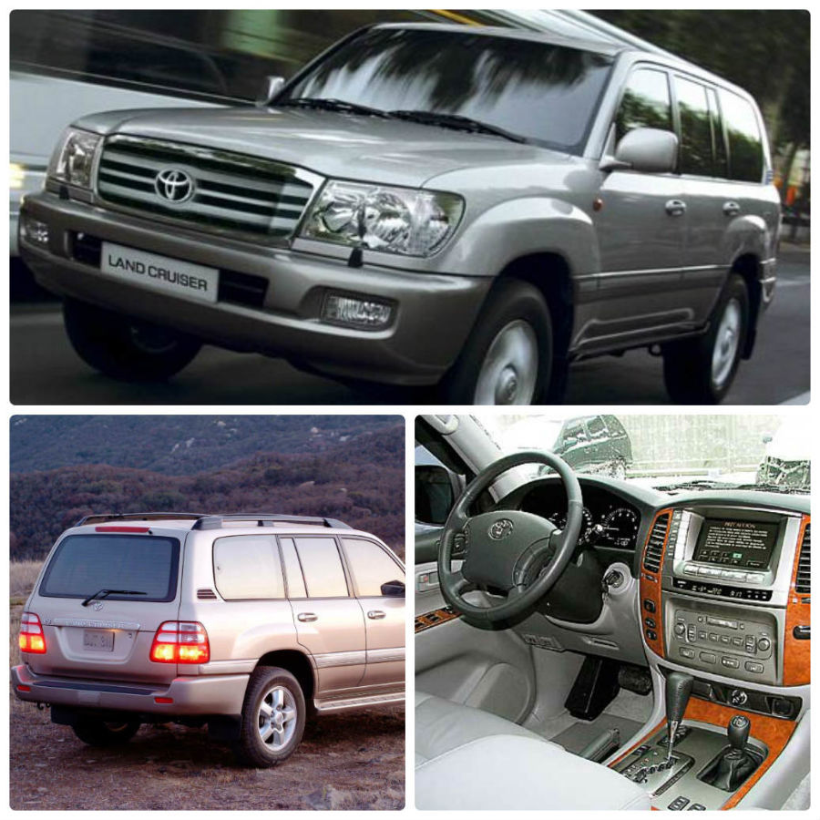 toyota land cruiser 100 запчасти б у