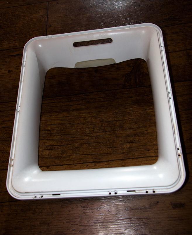 Фото - Обрамление (обечайка) люка внешнее для стиральной машины Whirlpool.