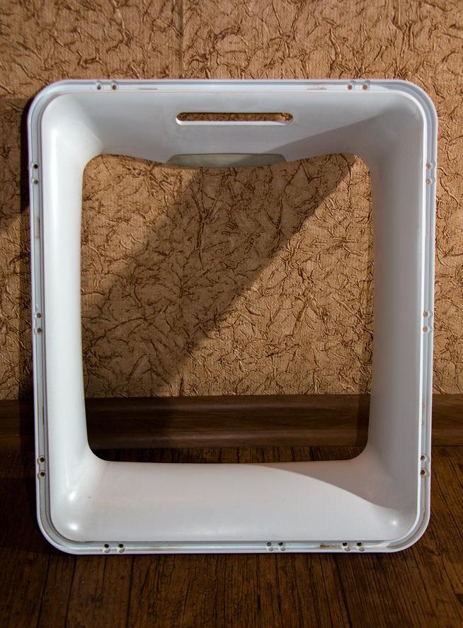 Фото 2 - Обрамление (обечайка) люка внешнее для стиральной машины Whirlpool.
