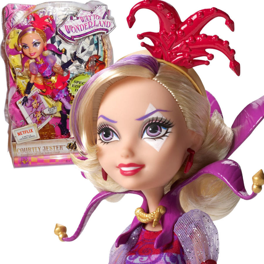 Фото - Кукла Mattel Ever After High Courtly Jester бесплатная доставка