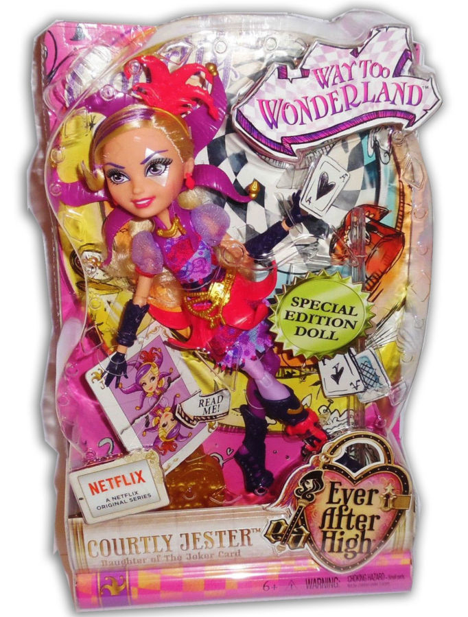 Фото 6 - Кукла Mattel Ever After High Courtly Jester бесплатная доставка