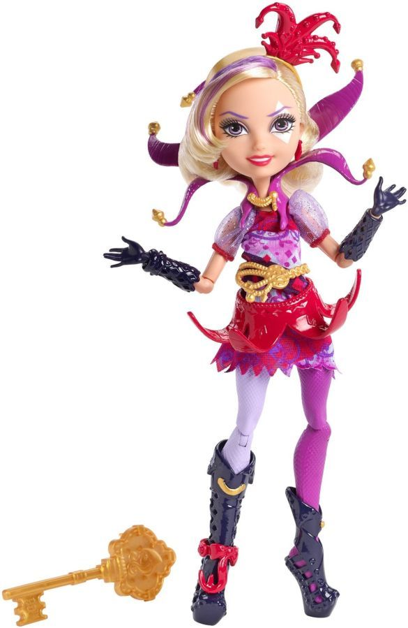 Фото 7 - Кукла Mattel Ever After High Courtly Jester бесплатная доставка