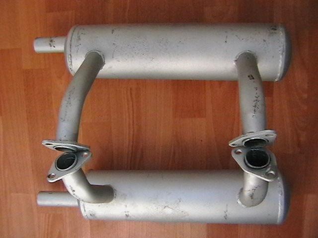 Фото - Глушитель выхлопная труба запорожец  заз 40лс.